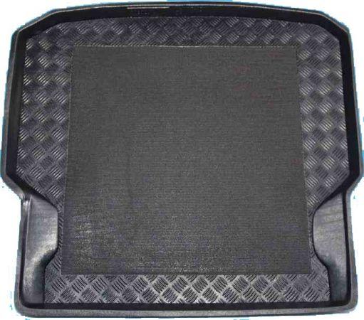 100923 Mercedes C-Klasse Coupe Limousine waarbij de achterste stoelen neergeklapt kunnen worden 2007-2014 kofferbakmat