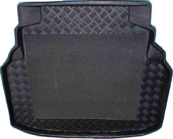 100924 Mercedes C-Klasse limousine waarbij de achterste stoelen niet neergeklapt kan worden 2007-2014 kofferbakmat