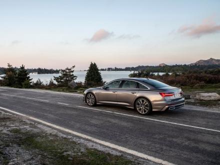 Nieuw! Automatten voor de Audi A6 2020->