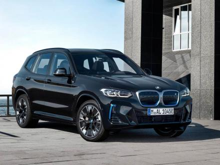 Nieuw! Automatten voor de BMW iX3