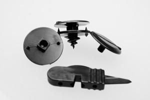 Universele bevestigingsmaterialen voor automatten